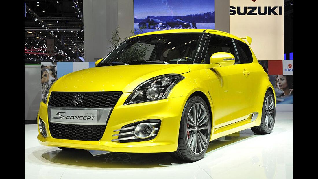 Suzuki Swift S-Concept, Messe, Genf, 2011