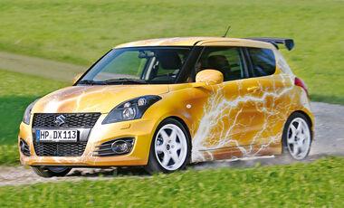 Suzuki Swift, Seitenansicht