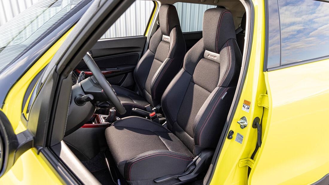 Suzuki Swift Sport 1.4 Boosterjet Hybrid, Interieur