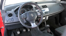 Suzuki Swift Sport 1600, Cockpit, Lenkrad