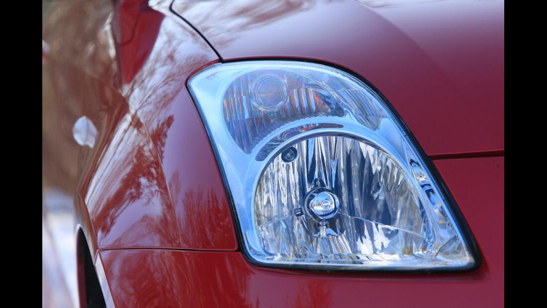 Suzuki Swift Sport 1600, Scheinwerfer
