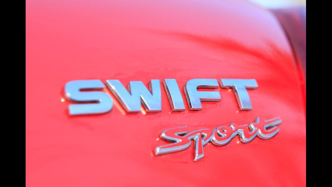 Suzuki Swift Sport 1600, Schriftzug