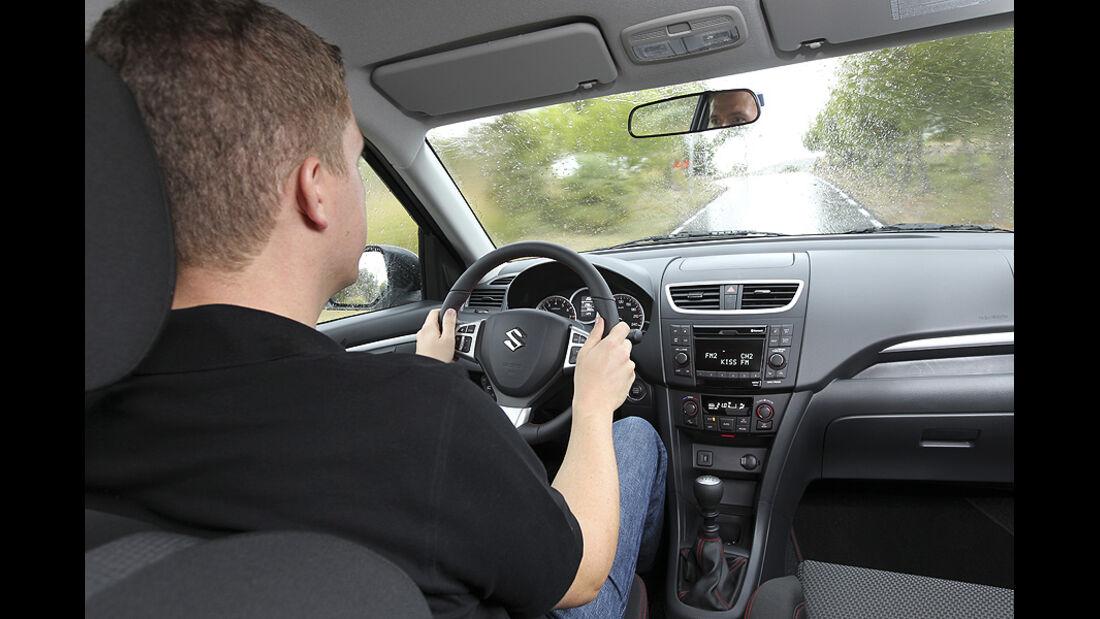 Suzuki Swift Sport, Cockpit
