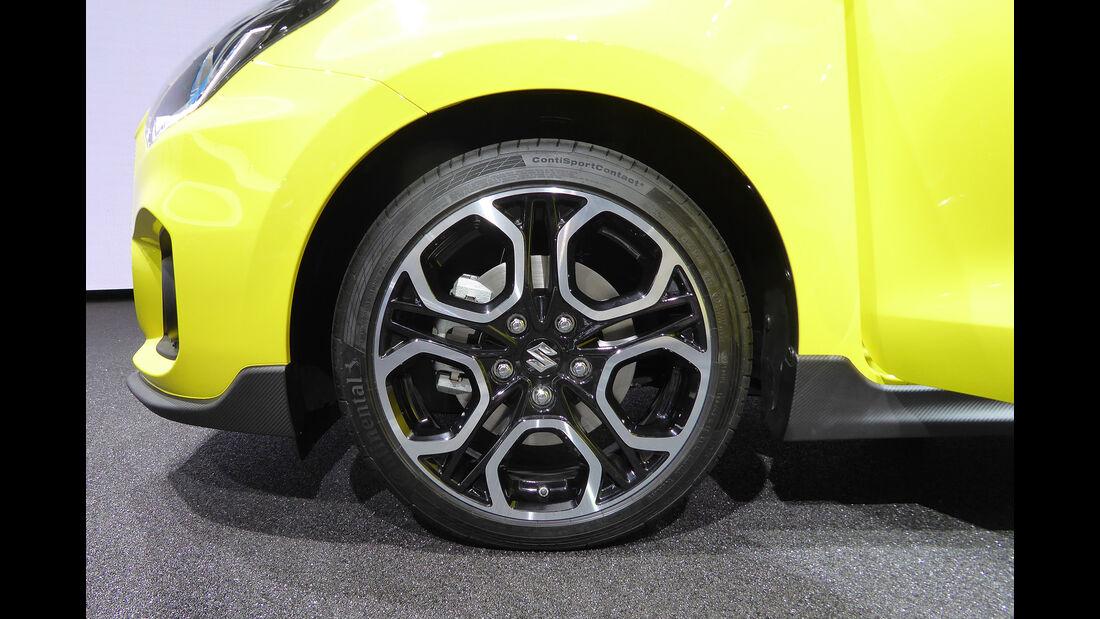 Suzuki Swift Sport - Felgen - IAA 2017