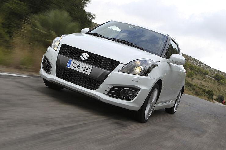 Suzuki Swift Sport, Front