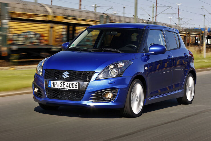 suzuki swift fz nz tests auto motor und sport. Black Bedroom Furniture Sets. Home Design Ideas