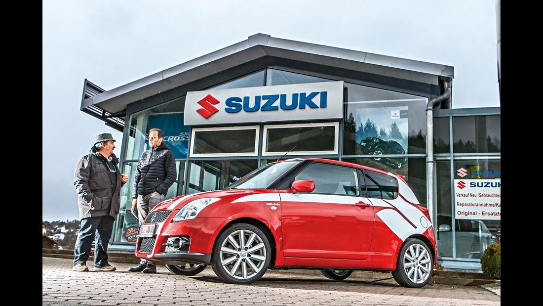 Suzuki Swift Sport, Händler