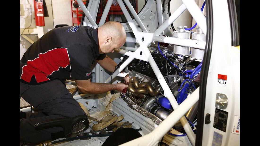 Suzuki Swift Sport Hayabusa, Kleinwagen, Umbau, Motorrad, Antrieb