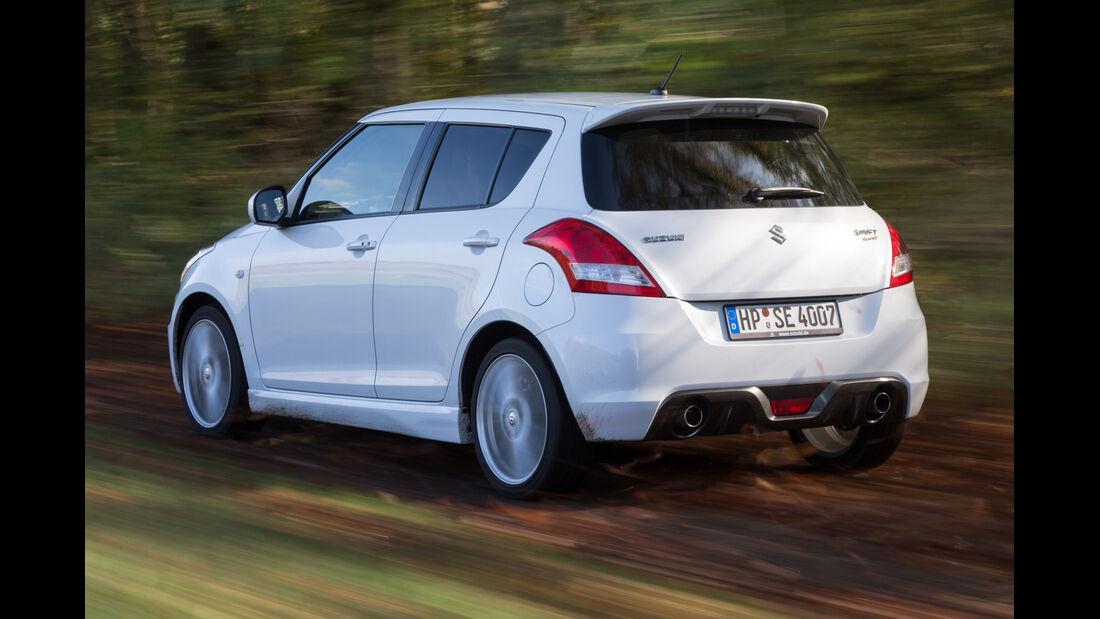 Suzuki Swift Sport, Heckansicht