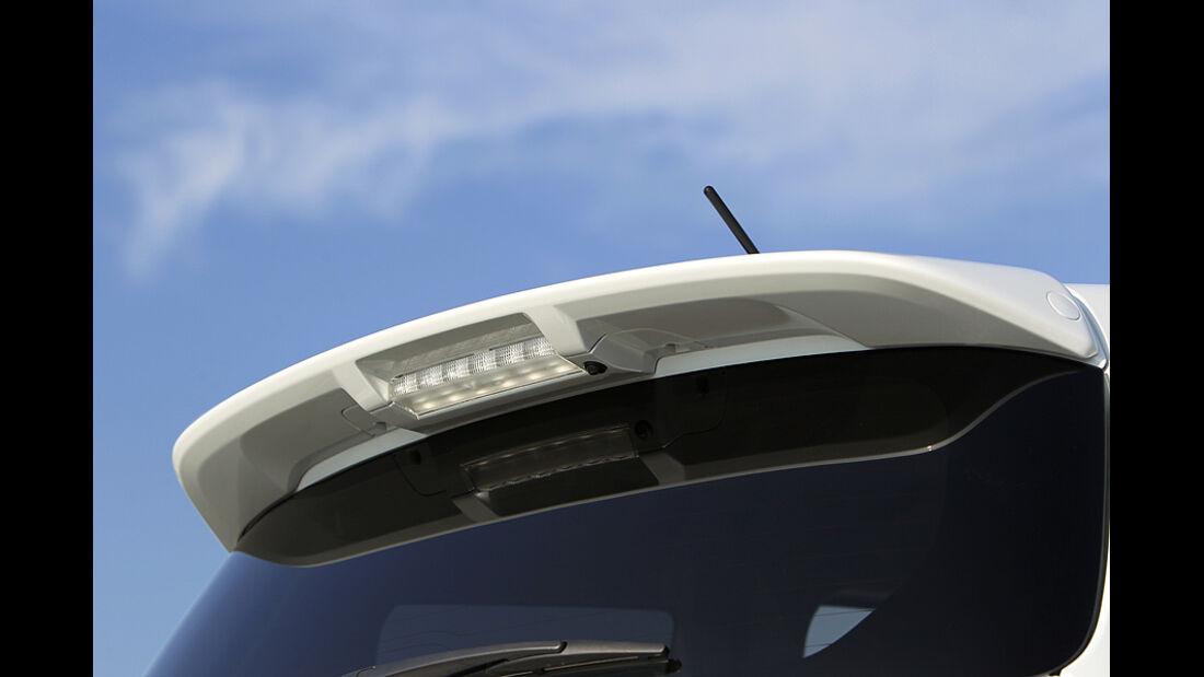 Suzuki Swift Sport, Heckspoiler