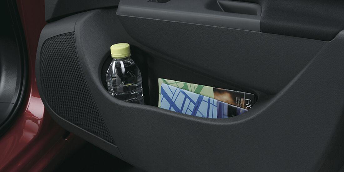 Suzuki Swift Sport, Innenraum, Ablage