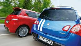 Suzuki Swift Sport, Renault Twingo Gordini R.S., Heck