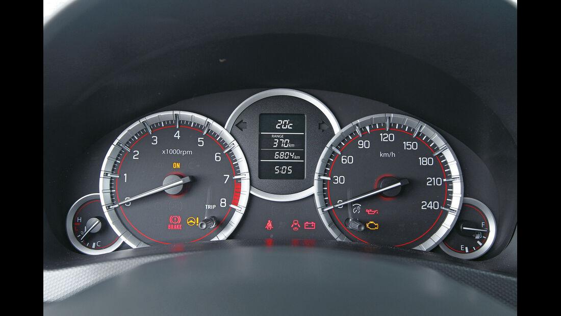 Suzuki Swift Sport, Rundinstrumente