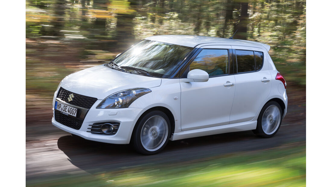 Suzuki Swift Sport, Seitenansicht