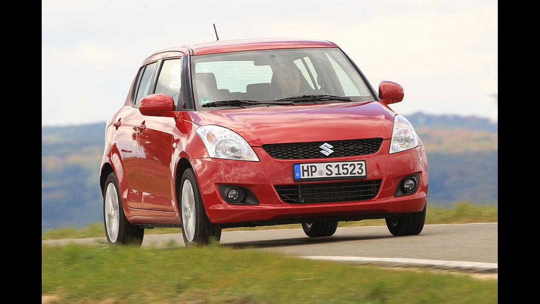 Suzuki Swift schräg von vorne