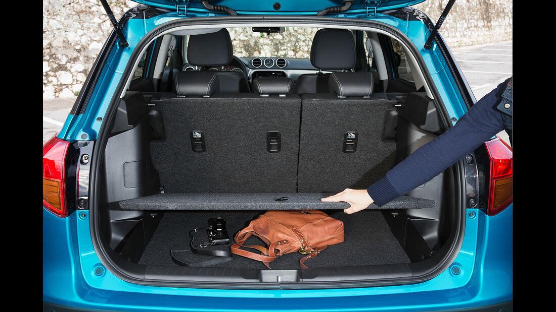 Suzuki Vitara 2015, Kofferraum