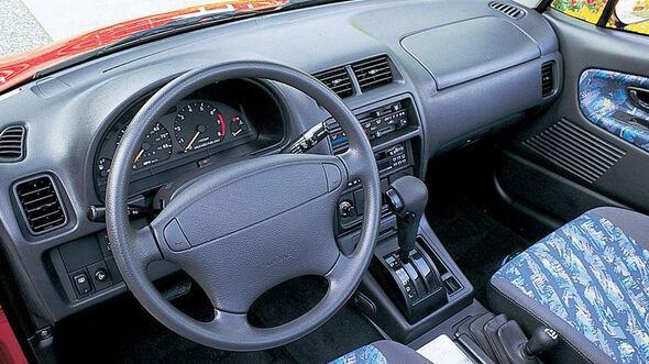 Suzuki Vitara X-90, Frontansicht