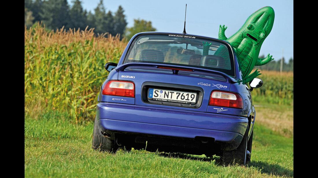 Suzuki Vitara X90, Heckansicht