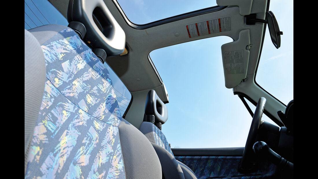 Suzuki Vitara X90, Innenraum, Panoramafenster