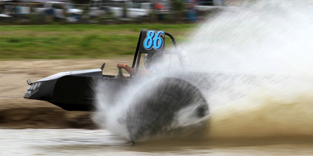 Swamp Buggy WC, Wasserdurchfahrt, Höchstgeschwindigkeit