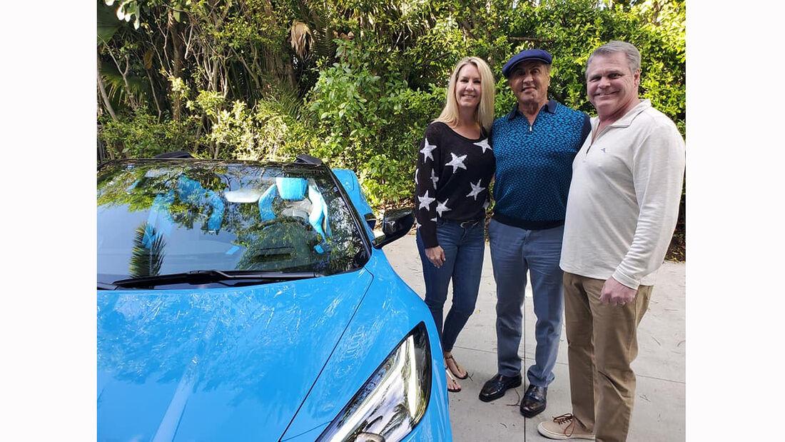 Sylvester Stallone bekommt seine Chevrolet Corvette