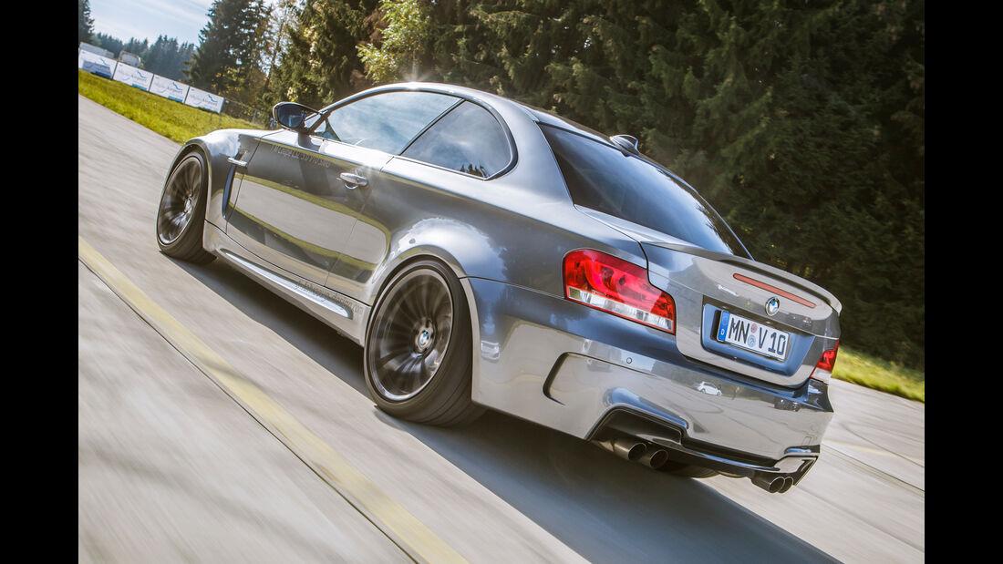 TJ-BMW Einser M Coupé V10, Heckansicht