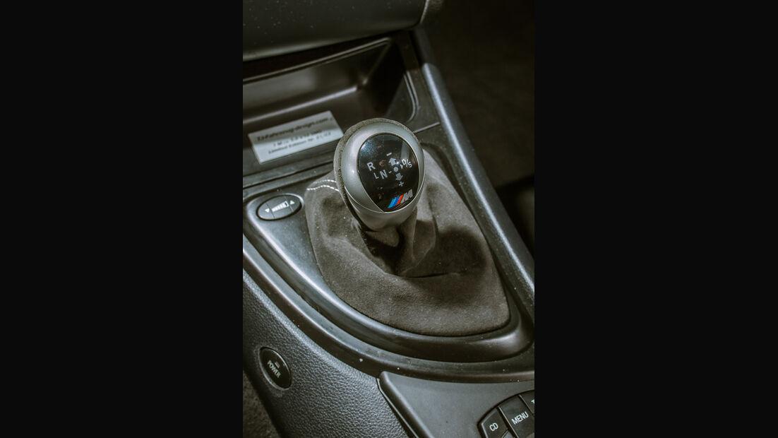 TJ-BMW Einser M Coupé V10, Schalthebel