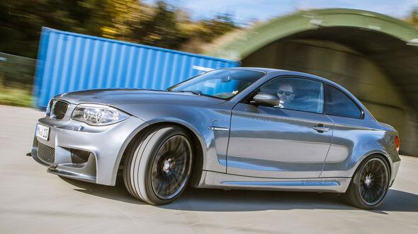 TJ-BMW Einser M Coupé V10, Seitenansicht