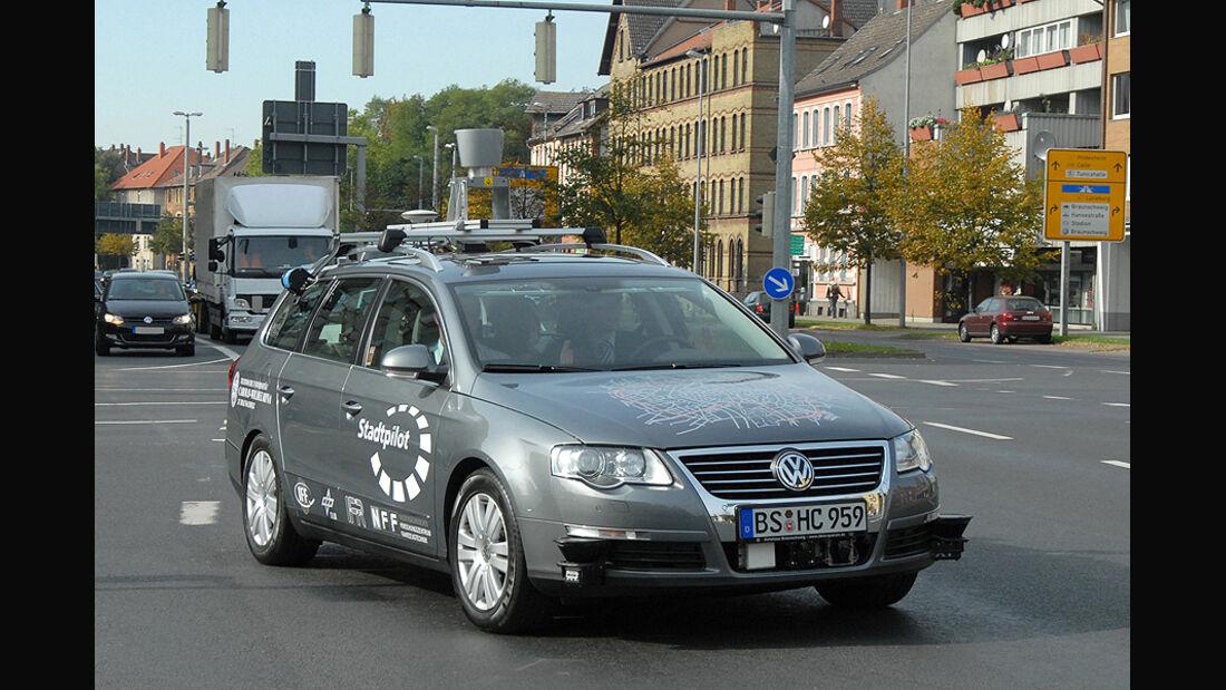 TU Braunschweig autonomes fahren, Leonie, VW Passat