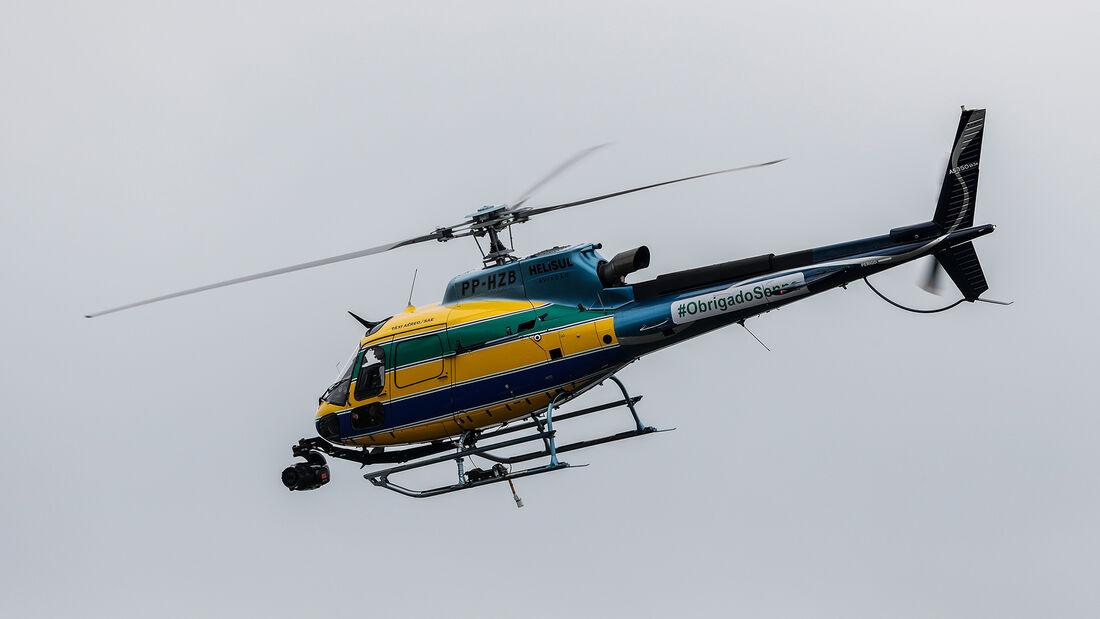 TV-Helikopter - Formel 1 - GP Brasilien - Sao Paulo - 15. November 2019