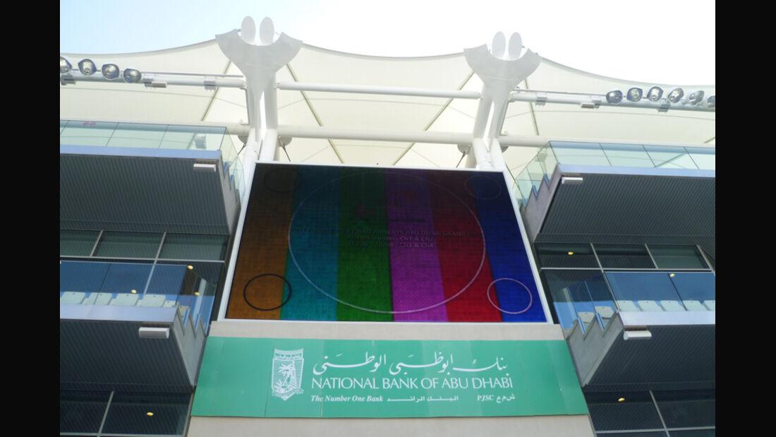 TV-Screen - GP Abu Dhabi - 10. November 2011
