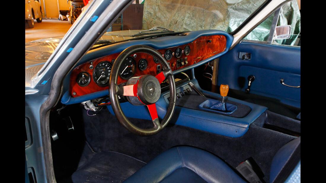 TVR 2000 M, Fahrersitz, Innenraum