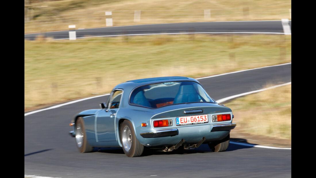 TVR 2000 M, Front, Kurvenfahrt