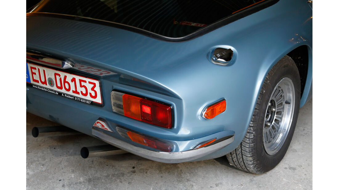 TVR 2000 M, Heck