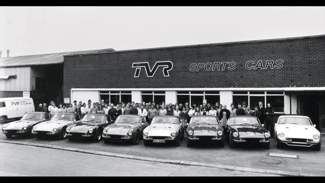 TVR 2000 M, Werksgelände