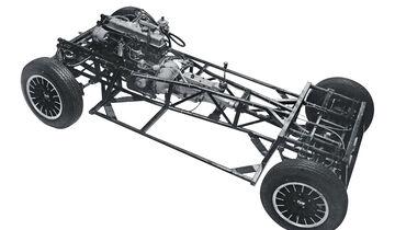 TVR 3000 M, Rahmen