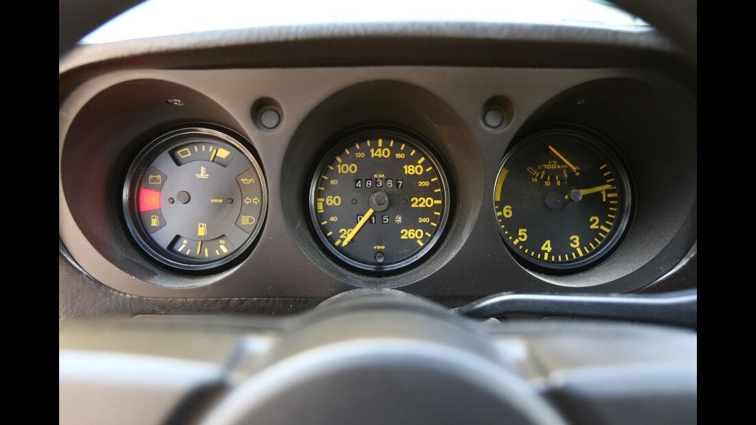 Tacho und Instrumente des Porsche 924