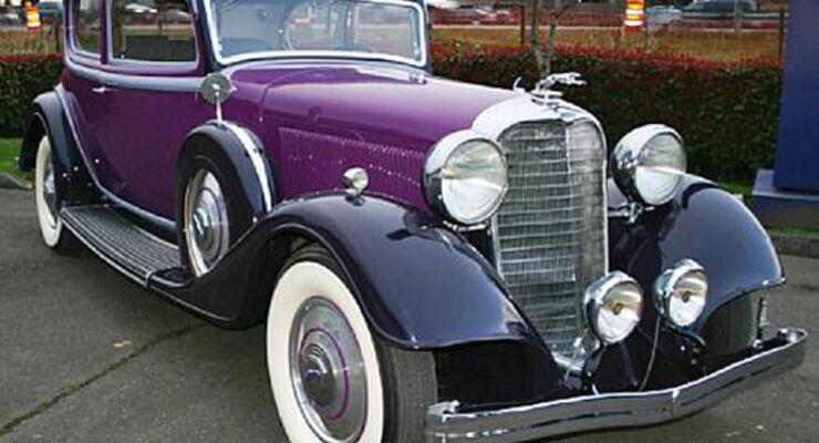 Tacoma 1933 Lincoln KB Victoria Coupe