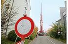 Tadano Faun ATF 160G-5, Durchfahrt verboten, Schild