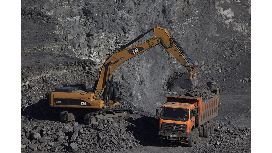 Tagebau, Bergbau