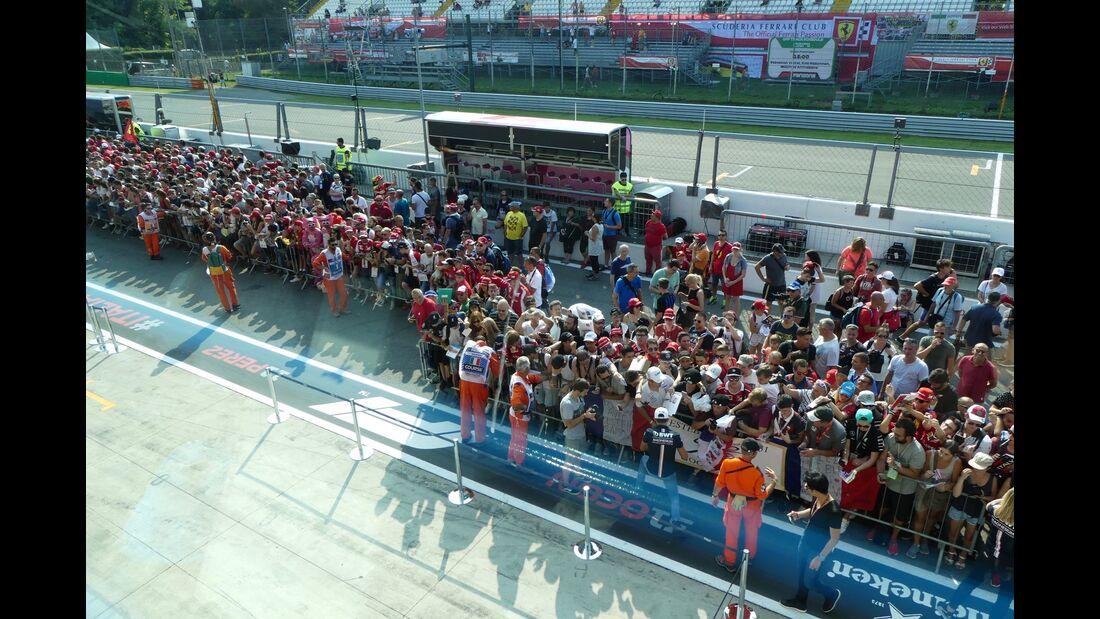 Tagebuch - Formel 1 - GP Italien 2018