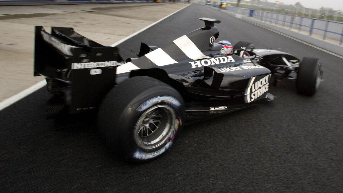Takuma Sato - Honda - Test - Jerez 2004