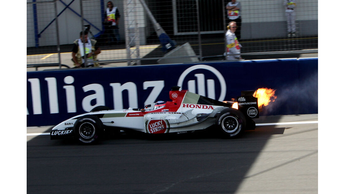 Takuma Sato - Nürburgring 2004