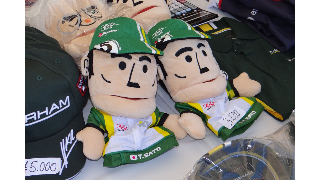 Takuma Sato-Puppen - Formel 1 - GP Japan - Suzuka - 4. Oktober 2012