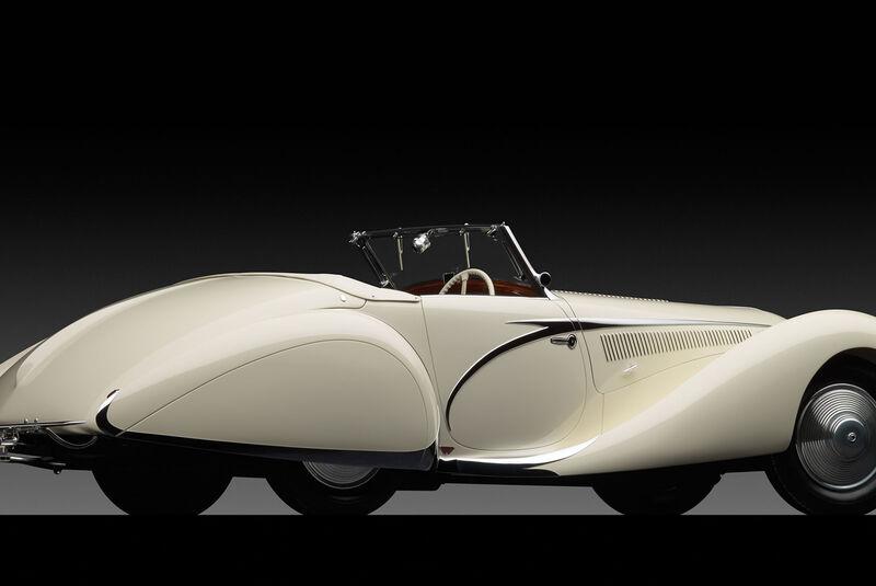 Talbot-Lago T150 SS Teardrop Cabriolet by Figoni et Falaschi (1938)