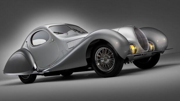 Talbot-Lago T150 SS Teardrop Coupe by Figoni et Falaschi (1938)