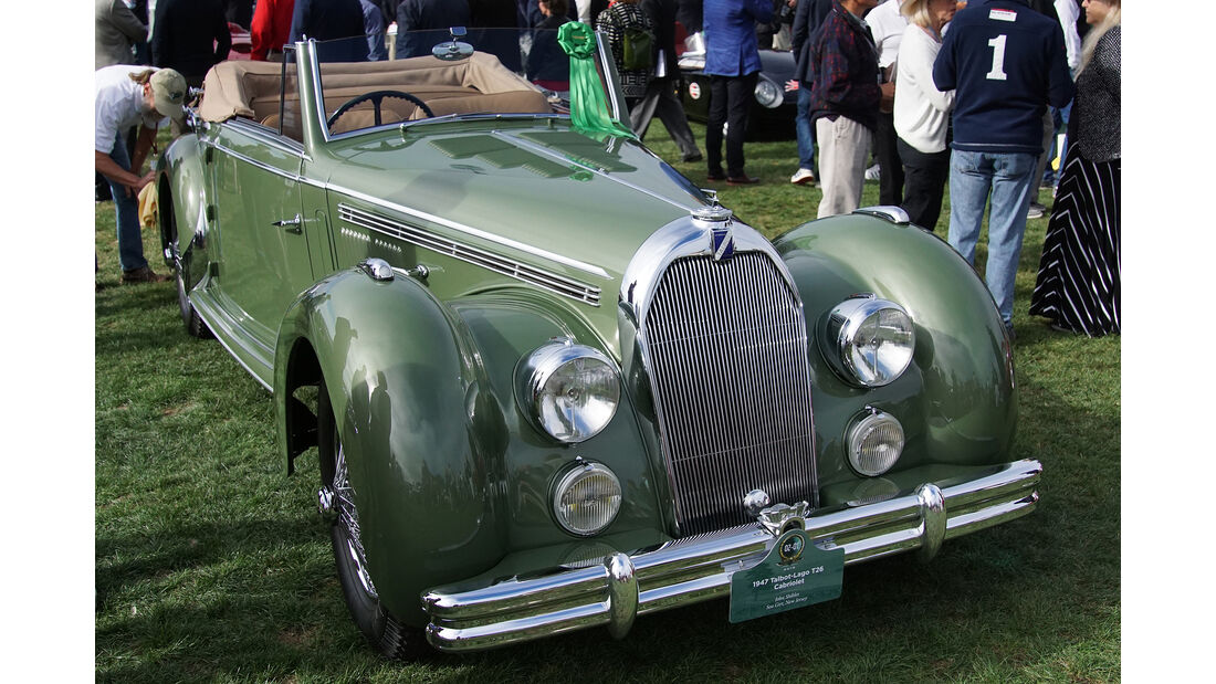 Talbot-Lago T26 Cabriolet