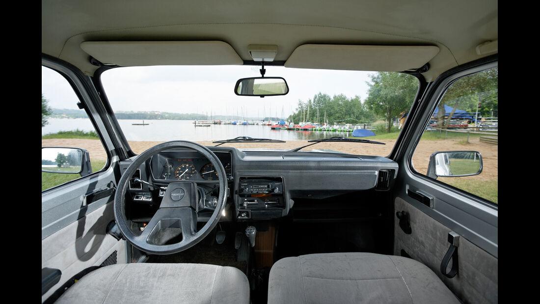 Talbot Matra Rancho, Cockpit