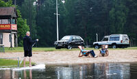 Talbot Matra Rancho, VW Golf Country, Frontansicht