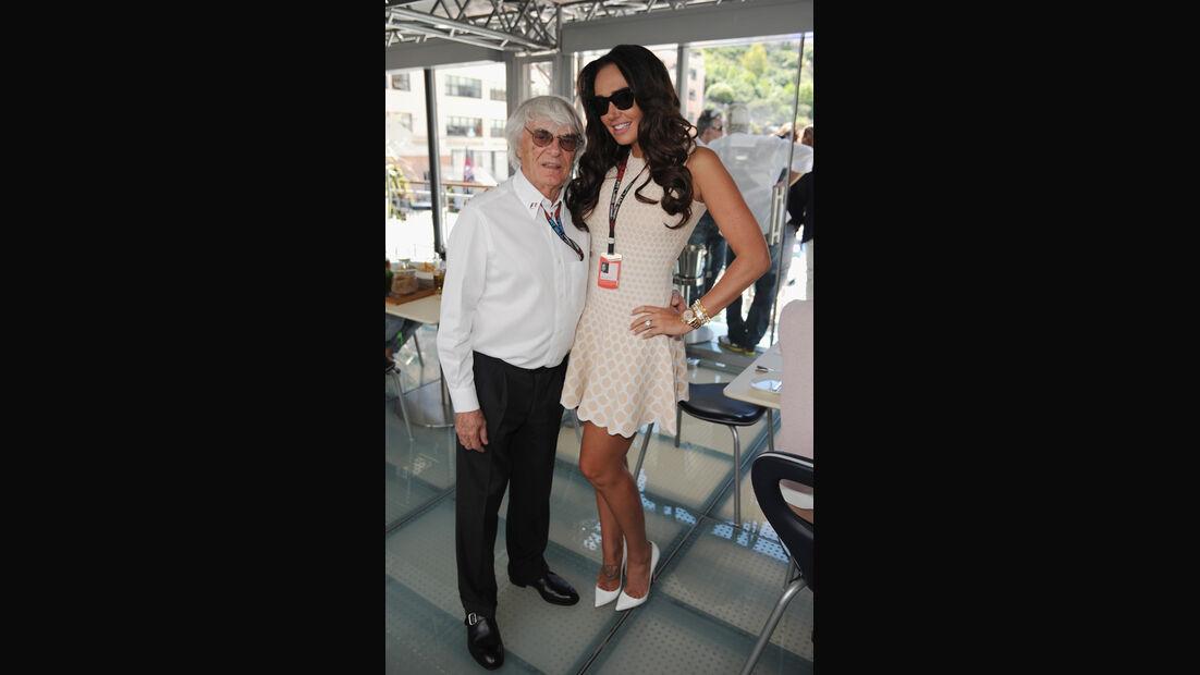 Tamara & Bernie Ecclestone - GP Monaco 2013 - VIPs & Promis
